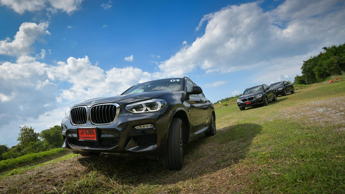 Test Drive BMW X4 สัมผัสความแรงเร้าใจในสนามแข่ง