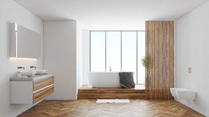 4 เทคนิคง่ายๆ ปรับนิดเปลี่ยนหน่อยเพิ่มบรรยากาศใหม่ๆ ให้กับ ห้องน้ำ
