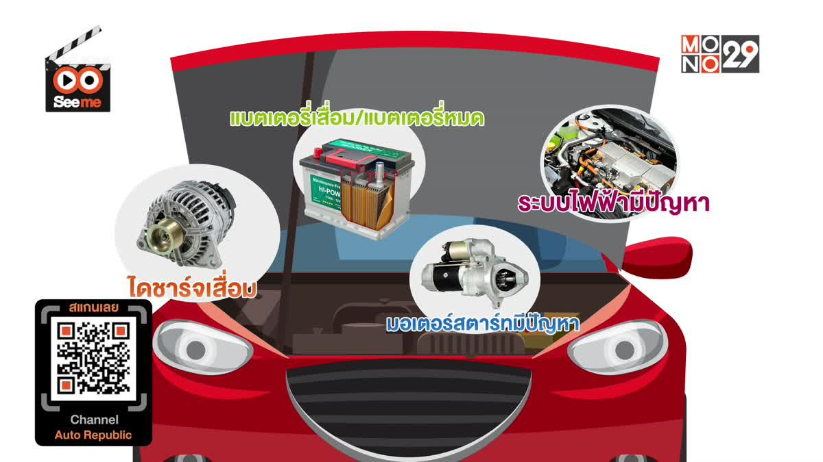 CUT SCENE SEEME EP 1 วิธีการพ่วงแบตเตอรี่รถยนต์ที่ถูกวิธี ทำอย่างไร