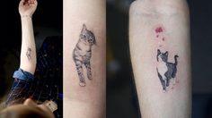 รอยสักรูปแมว แนวเรียลลิสติกน่ารัก ที่ทาสแมวต้องตกหลุมรัก