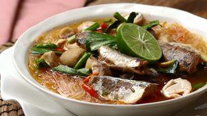 สูตร ต้มยำปลากระป๋องวุ้นเส้น อร่อยดีและอิ่มท้อง