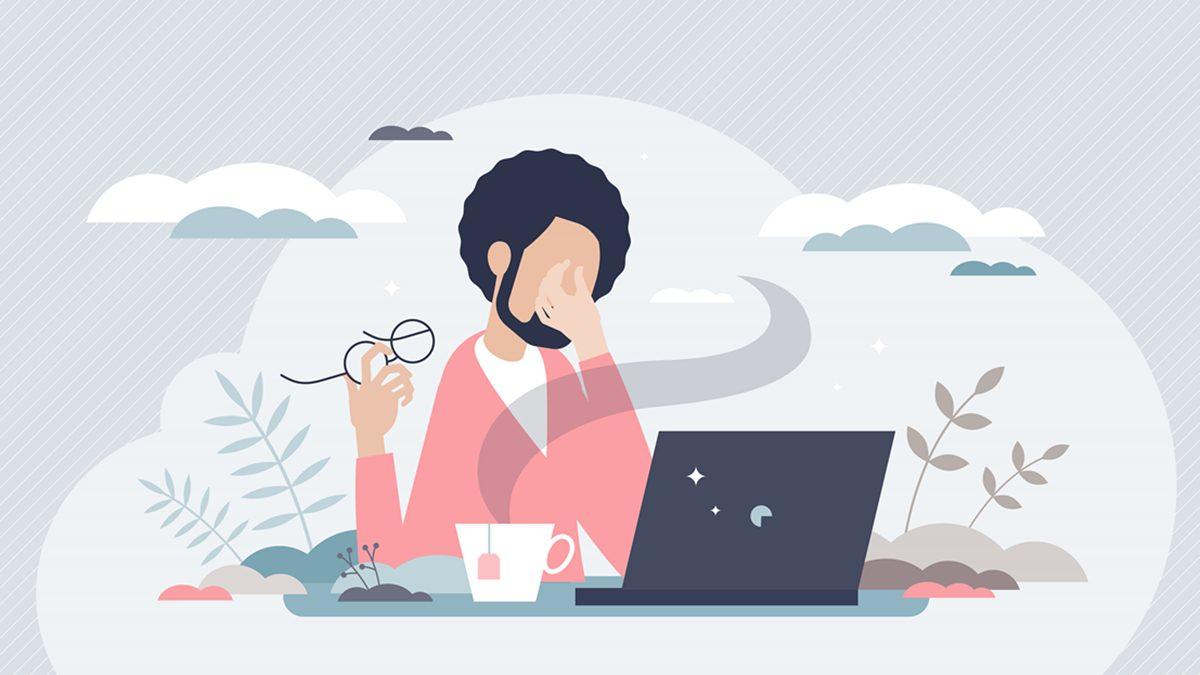 วิธีการสังเกตอาการ คอมพิวเตอร์วิชั่นซินโดรม Work from Home ต้องระวัง!