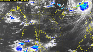 Updates of Storms in Thailand