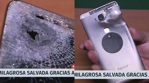 Huawei Honor 5X ช่วยชีวิตหนุ่มชิลีไว้ หลังจากโดนยิงเข้าอย่างจัง