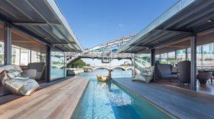 Off Paris Seine โรงแรมลอยน้ำแห่งแรกของปารีส