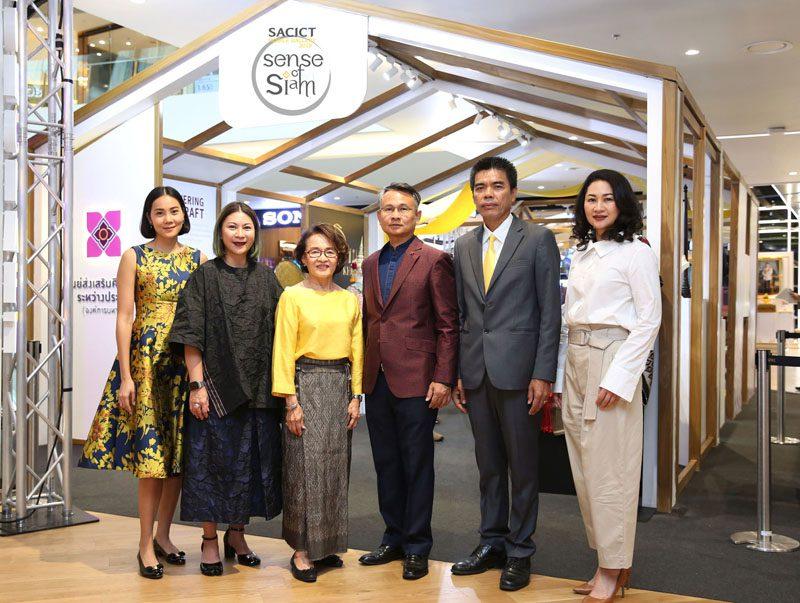 SACICT เชิญชวนชาวไทยร่วมสัมผัสงานหัตถศิลป์จากภูมิปัญญาอันล้ำค่า ในงาน SACICT Mobile Gallery 2019