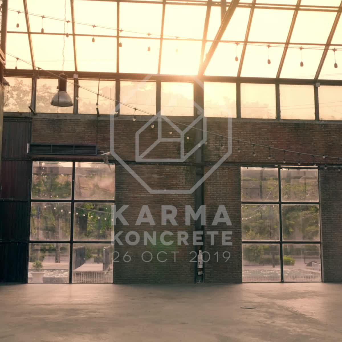 ก่อนจะเป็น Karma Koncrete 'ปาร์ตี้ในโกดัง' 26 ตุลาคมนี้