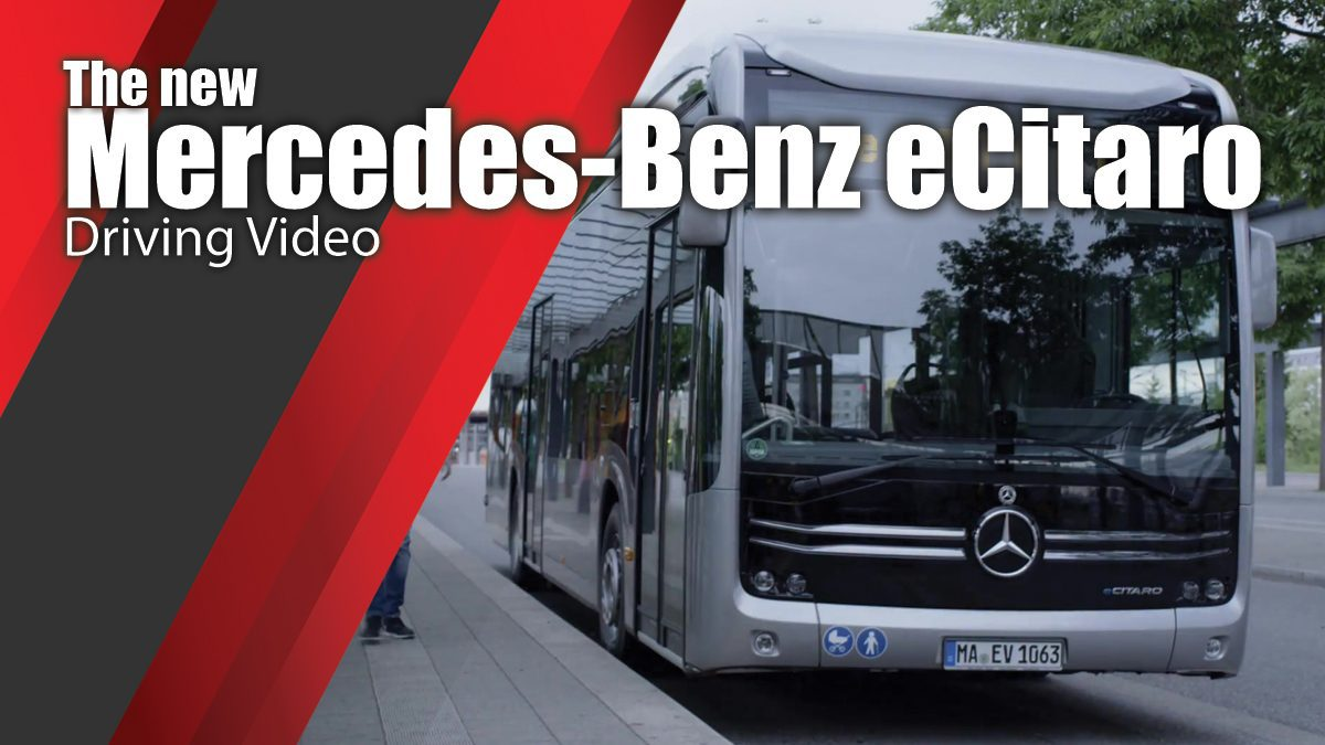 The new Mercedes-Benz eCitaro - Driving Video