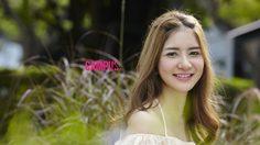 น้องมะนาว สาวน่ารัก ยิ้มสวย จากม. หอการค้าไทย