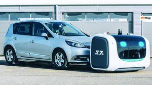 อังกฤษล้ำ! เตรียมอัพเกรดลานจอดรถสนามบิน London รองรับหุ่นยนต์จอดรถปีนี้