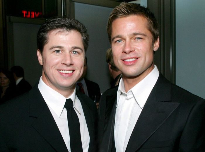 Brad Pitt กับพี่ชาย Doug