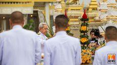 ผู้แทนพระองค์ เป็นประธานพิธีบวงสรวงการรื้อถอน พระเมรุมาศ