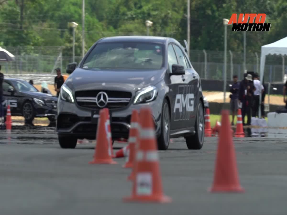 Mercedes-Benz เพิ่ม อะดรีนาลีน กับการทดสอบทัพ Mercedes-AMG แบบครบตระกูล