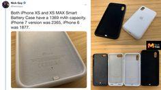 อ้าว!! เคสแบตสำรอง ของ Apple สำหรับ iPhone รุ่นใหม่ ให้แบตมาน้อยกว่าทุกรุ่นที่เคยมีมา