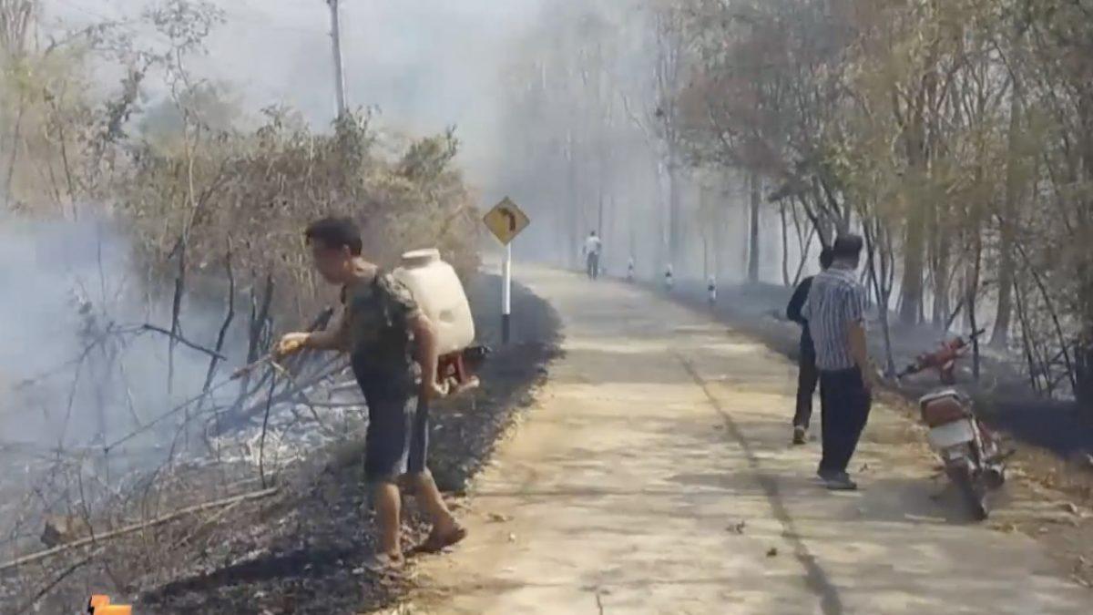 ผู้ว่าฯ แพร่ เข้มตั้งด่านตรวจคนเข้าป่าเพื่อป้องกันไฟป่า