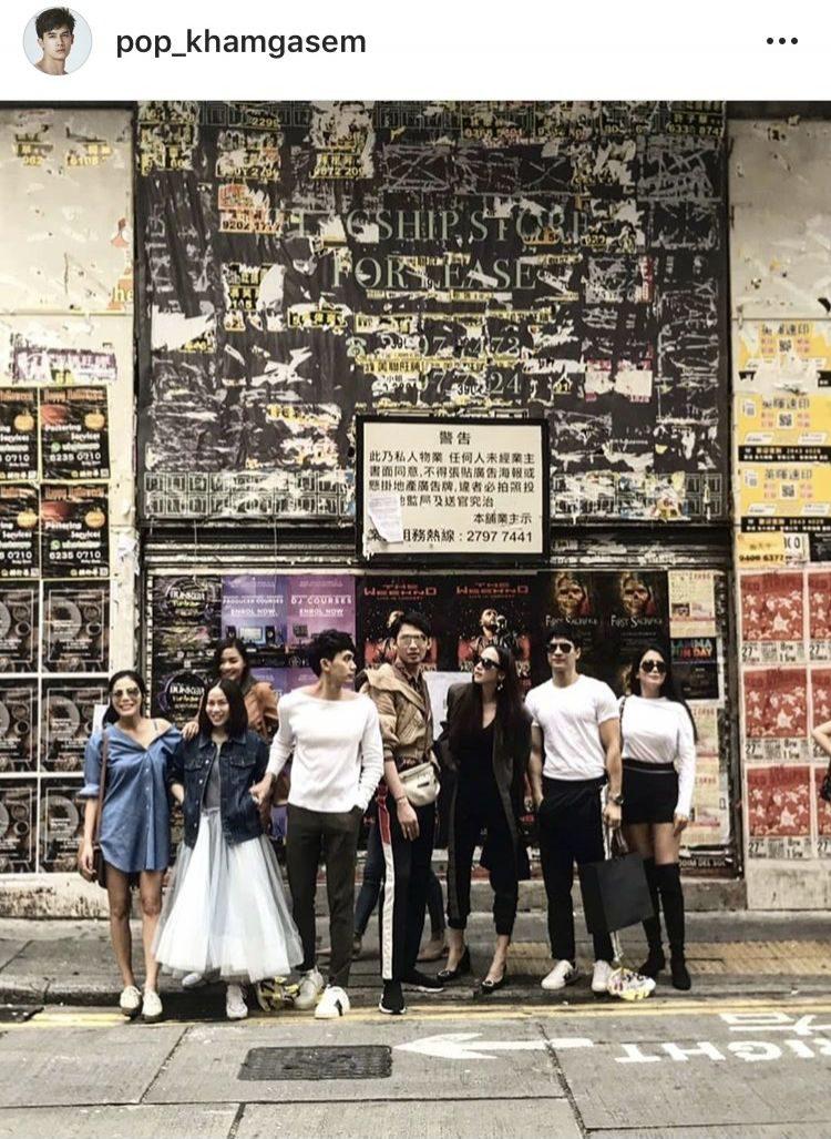 ป๊อบ คำเกษม กับชาวแก๊งเที่ยวฮ่องกง