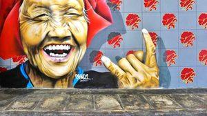 ศิลปะบนกำแพงเก๋ๆ ในสิงคโปร์ที่ไม่ควรพลาด