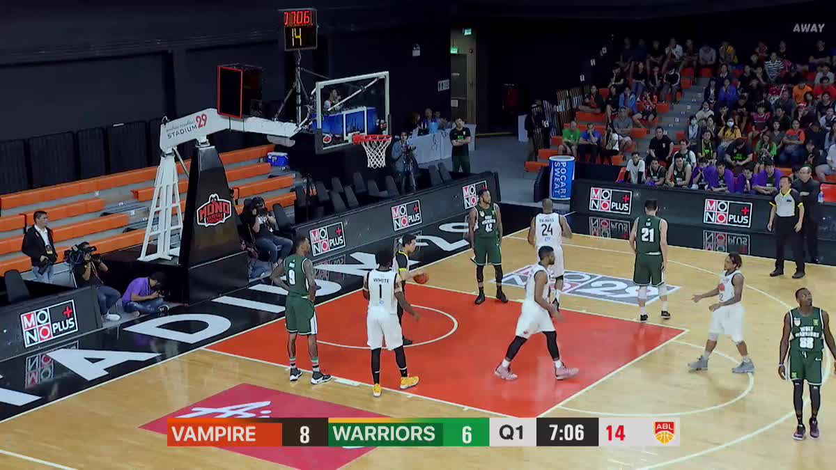 Q1 Asean Basketball League 2018-2019 :  Mono Vampire VS Wolf Warriors 2 Feb 2019