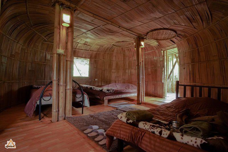 บ้านไม้ไผ่ยักษ์ Giant Bamboo Hut