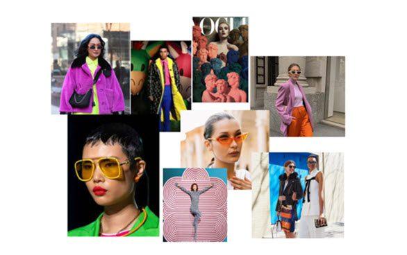 Color Eyewear Trend : Twisted Pop