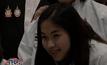 """""""น้องเมย์"""" ถือธงไทย นักแบดฯ ร่วมพาเหรดพิธีเปิด"""