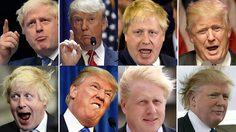 ฝาแฝดชัดๆ เปรียบเทียบ ทรัมป์ และ บอริส จอห์นสัน นายกคนใหม่ของ สหราชอาณาจักร