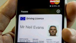สหราชอาณาจักร เตรียมดันใช้ iPhone ทดแทนใบขับขี่