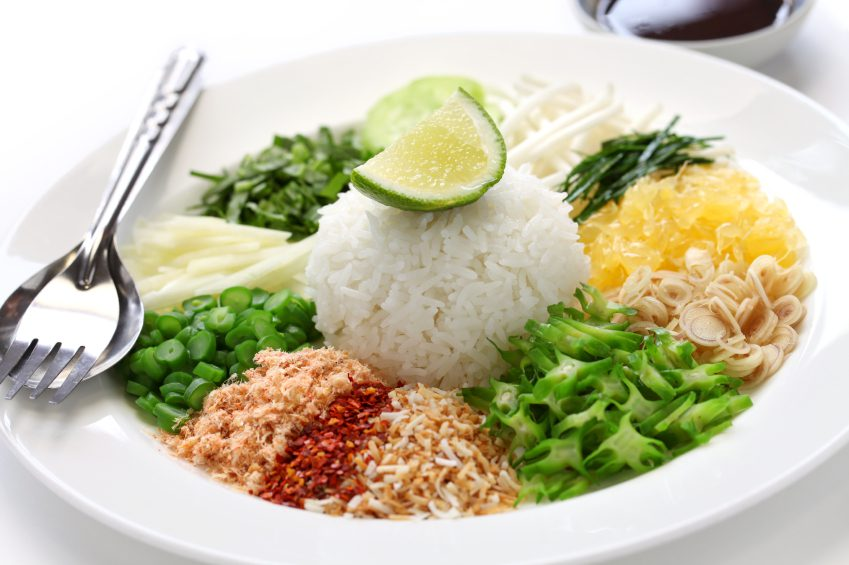 mix rice south thai food