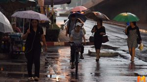 ฝนถล่มกรุงแต่เช้า! หลายพื้นที่การจราจรติดขัด น้ำเริ่มท่วมขัง