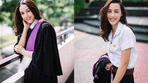 เรียนจบแล้ว ลิลลี่ ภัณฑิลา แฟนชินชินวุฒ จากมหาวิทยาลัยธรรมศาสตร์