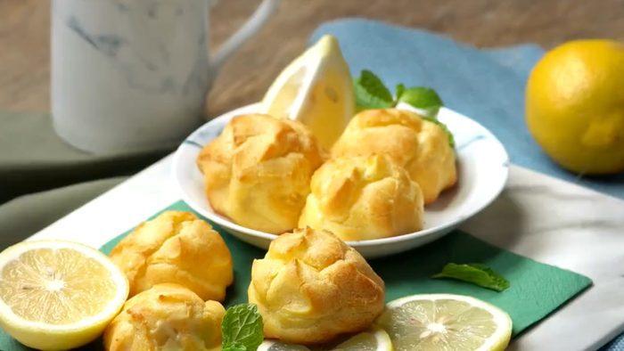 วิธีทำ เลมอนชูครีม แป้งนุ่มๆ หอมหวานอร่อย