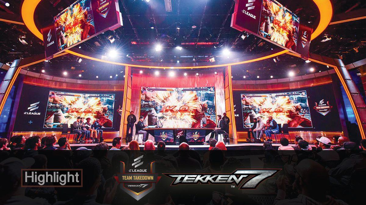 Highlight การแข่งขัน 'TEKKEN Team Takedown'