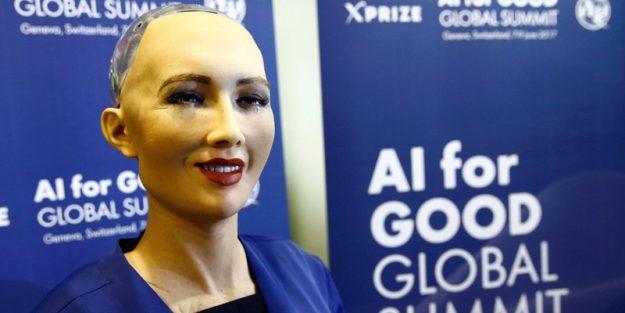 Sophia AI Robot