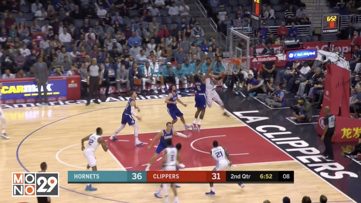 Highlight Charlotte Hornets VS Los Angeles Clippers