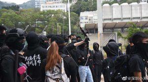 เตือนคนไทยในฮ่องกง เลี่ยงพื้นที่ชุมนุม หลังผู้ประท้วงนัดขวางการจราจร วันนี้