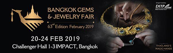 Thaitrade.com เชิญชวนเข้าร่วมงาน Bangkok Gems and Jewelry Fair ครั้งที่ 63  พร้อมผลักดันผู้ประกอบการไทยสู่ผู้ส่งออกอัญมณีระดับโลก
