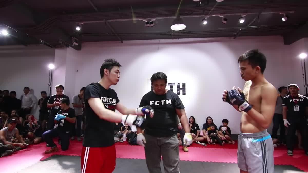Fight Club Thailand ส่งท้ายปี เก่ง รถเบ๊นซ์ x ป๊อช คู่ที่ 190