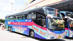 บขส. เปิดตัวรถโดยสาร Super Bus มีระบบปรับนวด พร้อม Free Wifi