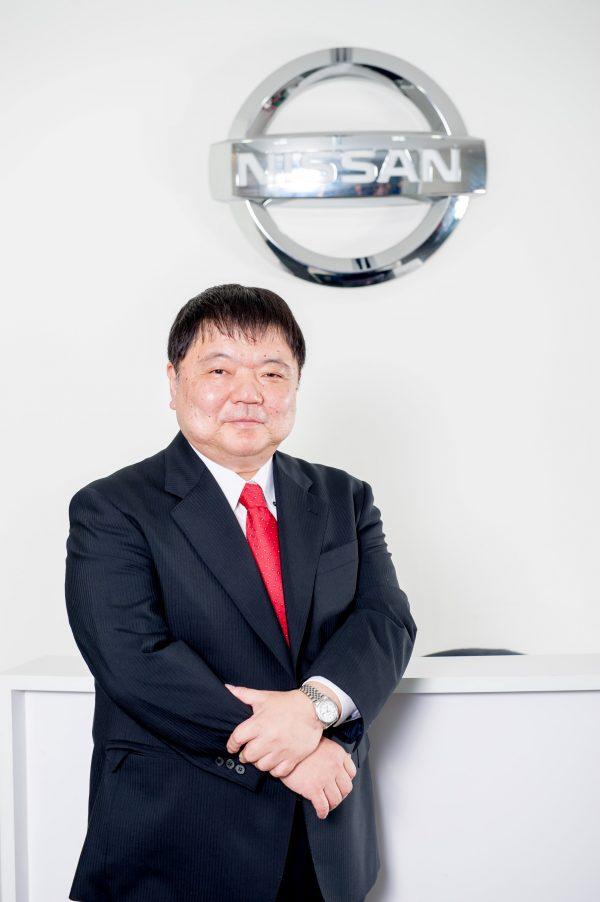 Mr.Yutaka Sanada RSVP of Nissan Asia and Oceania