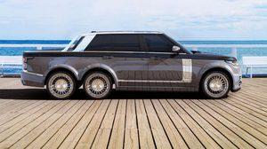 Range Rover 6×6 รถกระบะ สุดหรู 6 ล้อ