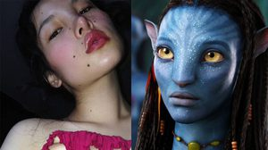 กำลังดัง! Tsunaina นางแบบสาวที่หน้าเหมือนมนุษย์ต่างดาวใน Avatar