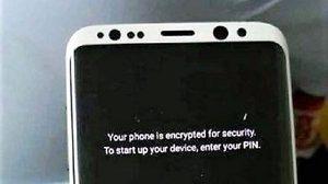 หลุด!! ภาพ Samsung Galaxy S8 เปิดเครื่องพร้อมใช้งาน