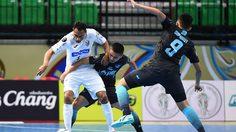 ไล่ไม่ทัน! บลูเวฟ พ่ายแชมป์อเมริกาใต้ 2-3 เข้าตัดเชือกชนทีม 'ฟัลเกา'