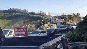 นักท่องเที่ยวล้น ภูทับเบิก ทำรถติดยาว ชาวบ้านเสนอทำถนนเสริม