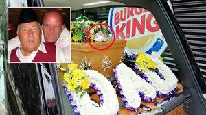 ลูกชายขับรถขนโลงศพเข้าไปซื้อ Burger King เพื่อทำตามคำสั่งเสียสุดท้ายของคุณพ่อ