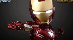Egg Attack Iron man คอลเลคชั่นจิ๋วแต่แจ๋ว จาก Kids logic