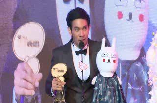 [HD] Jay the Rabbit ได้รับรางวัล MThai Top Talk Internet Attraction 2014