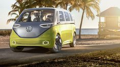 Volkswagen เตรียมส่ง ID Buzz แวนไฟฟ้าโชว์ตัวสัปดาห์นี้
