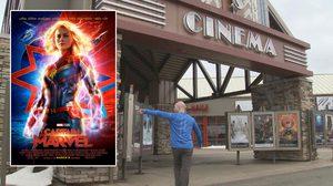 สถิติโลก!! หนุ่มจอมอึดดู Captain Marvel ไปแล้ว 116 รอบ รวมเวลาในหนังกว่า 14,268 นาที