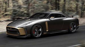 รถต้นแบบ Nissan GT-R50 2018 ก็อตซิลล่ารุ่นพิเศษสไตล์อิตาเลียน